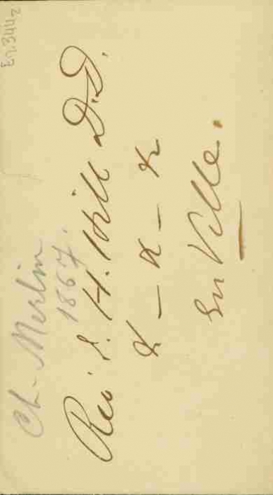 Merlin Charles W.