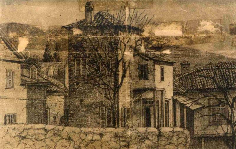 Παλιός βενετσιάνικος πυργίσκος, όπου πρωτοεγκατέστησαν το σχολείο τους οι ...