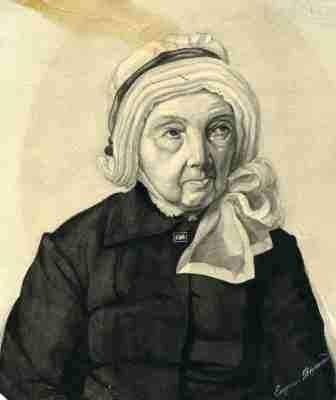 Πορτραίτο σε ακουαρέλα της Fanny Hill