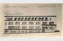 Σχέδιο του σχολείου με το οικοτροφείο