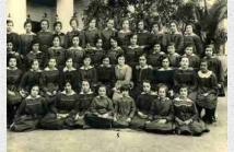 Φωτογραφία τάξης μαθητριών